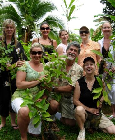 Santa Juana Tree Planting Jim